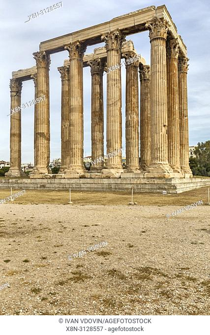 Temple of Olympian Zeus, Olympieion, Athens, Greece