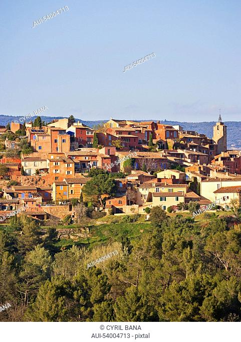 France, Provence, Roussillon, village, scenery