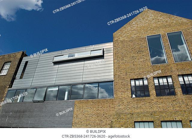 Modern studio and apartment development, London, UK