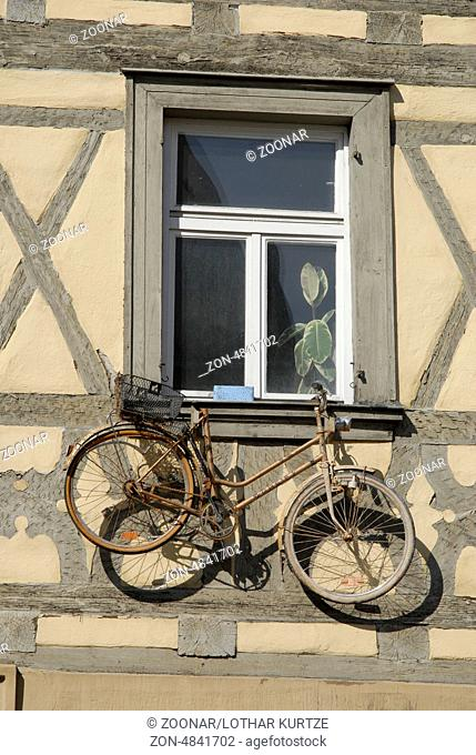 Old bicycle, Bamberg, Germany