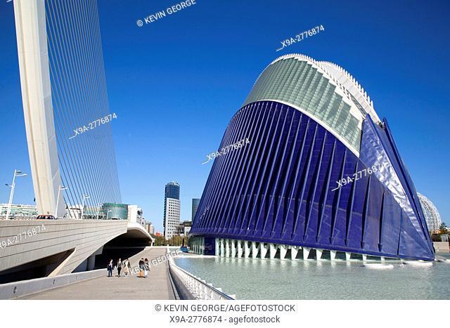 Agora Building, City of Arts and Science, Valencia
