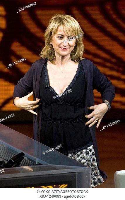 31 10 2010, Milan, 'Che tempo che fa' telecast, Luciana Littizzetto