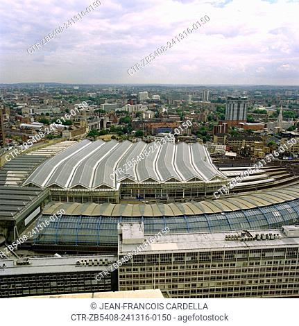 New roof, Waterloo Station, London