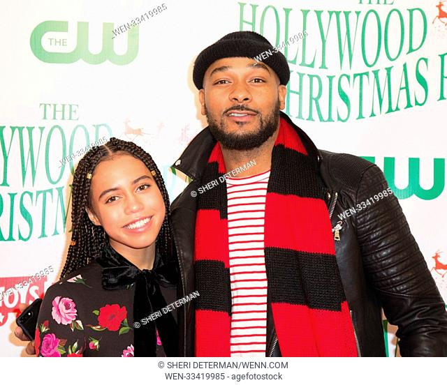 86th Annual Hollywood Christmas Parade held in Hollywood, California Featuring: Asia Monet, Anthony Burrell Where: Los Angeles, California