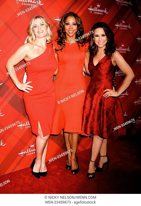 Hallmark's 'Christmas at Holly Lodge' screening at 189 The Grove Drive - Arrivals Featuring: Alison Sweeney, Holly Robinson Peete