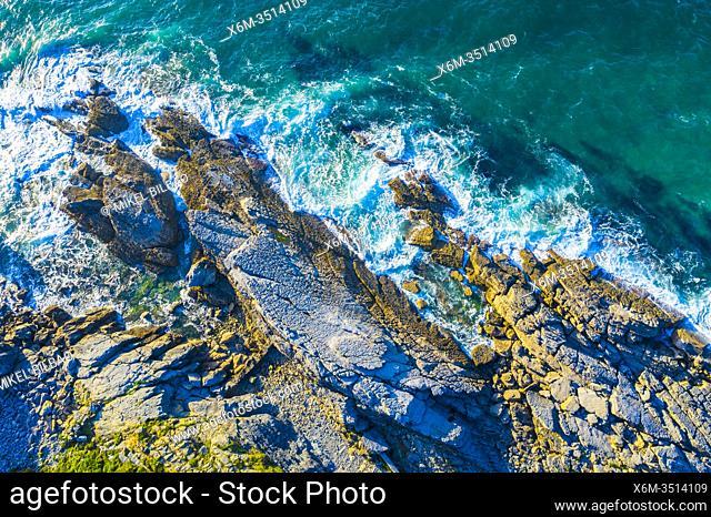 Coastal landscape. Sonabia (Castro Urdiales) Cantabria, Spain, Europe