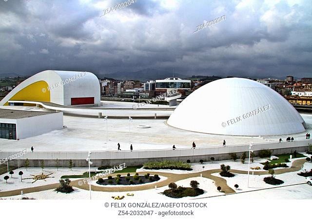 International Cultural Centre Oscar Niemeyer, Avilés, Asturias, Spain