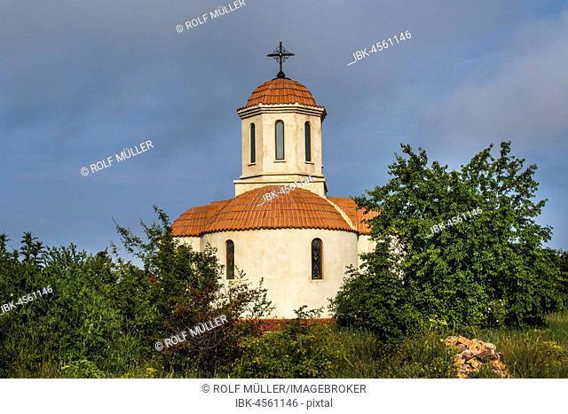 Church in the monastery of Codru, Babadag, Tulcea, Romania
