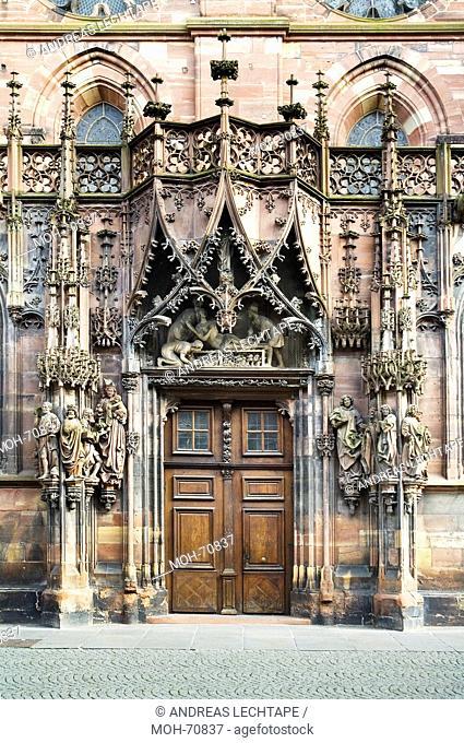 Straßburg, Straßburger Münster Unserer Lieben Frau, Cathédrale Notre-Dame