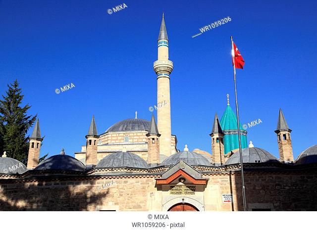Museum of Mevlana, Konya, Turkey
