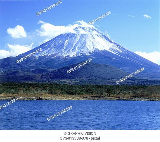 Shoji Lake, Mt. Fuji, Yamanashi-ken, Japan