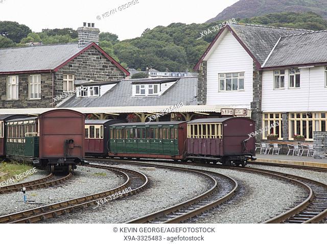 Ffestiniog Welsh and Highland Railways, Porthmadog, Wales, UK