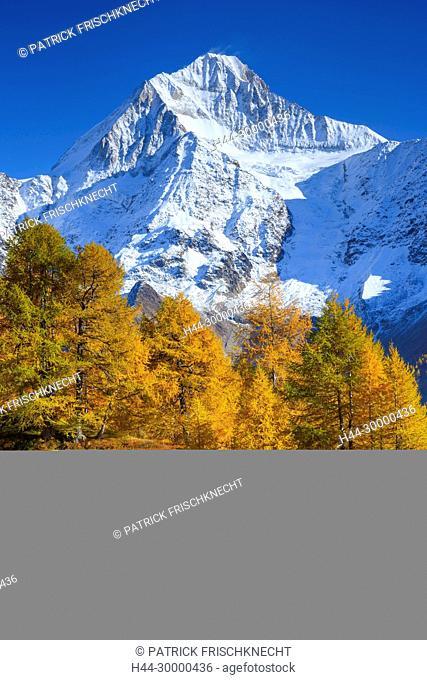 Bietschhorn - 3934m, Wallis, Schweiz