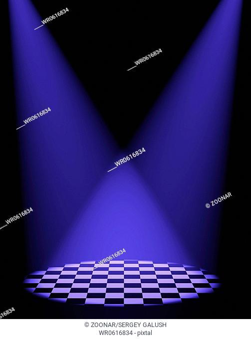 two volumetric light