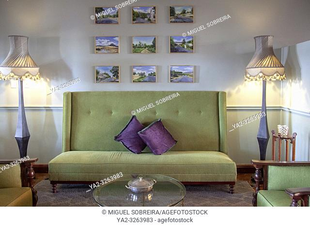 Interior Lounge Area at the Royal Hotel in Riebeek Kasteel in South Africa