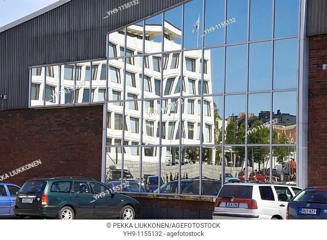 Stora Enso headquarters designed by Alvar Aalto, Helsinki, Finland