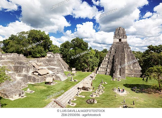 Tikal is the ruins of an ancient city found in a rainforest in Guatemala. Ambrosio Tut, a gum-sapper, reported the ruins to La Gaceta, a Guatemalan newspaper
