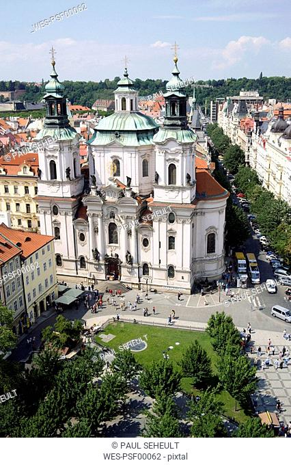 Czech Republic, Prague, St Nicholas Church