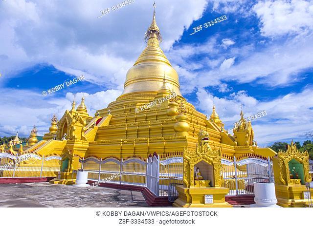 Sandamuni Pagoda in Mandalay, Myanmar