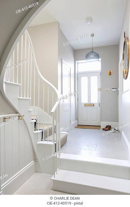 Luxury home showcase foyer