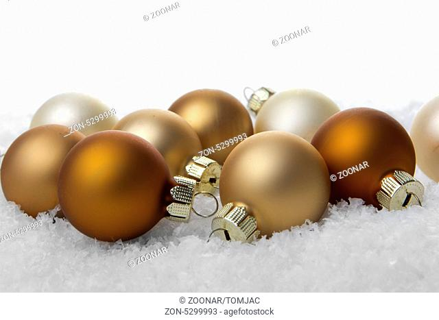 Christbaumkugeln Braun Creme.During Pre Christmas Season Stock Photos And Images Age Fotostock