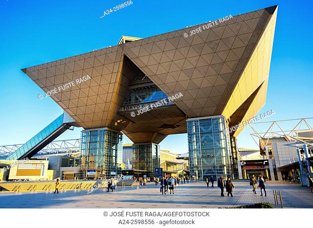 Japan, Tokyo City, Odaiba District, Tokyo Big Sight Bldg. , International Exhibition Center