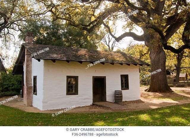 William B. Ide Adobe State Historic Park, near Red Bluff, California