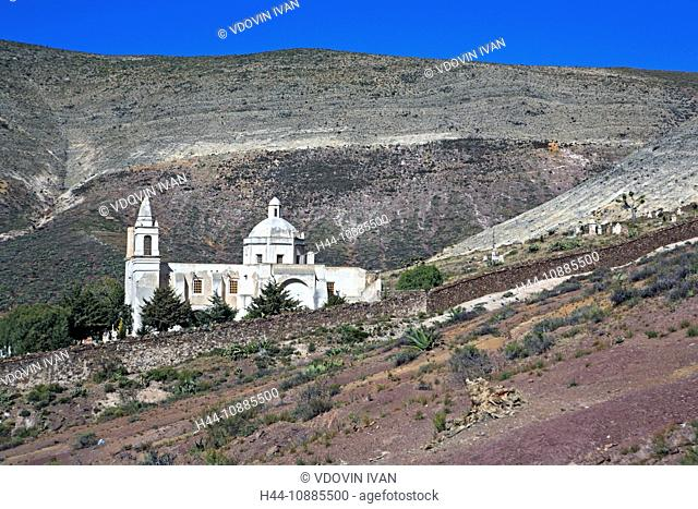 Church of Guadalupe, 1777, Real de Catorce, state San Luis Potosi, Mexico