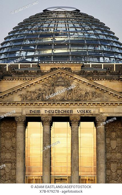 Berlin  Germany  The Reichstag German Parliament