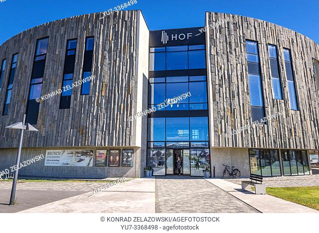 Hof Cultural and Conference Center in Akureyri city, Capital of North Iceland