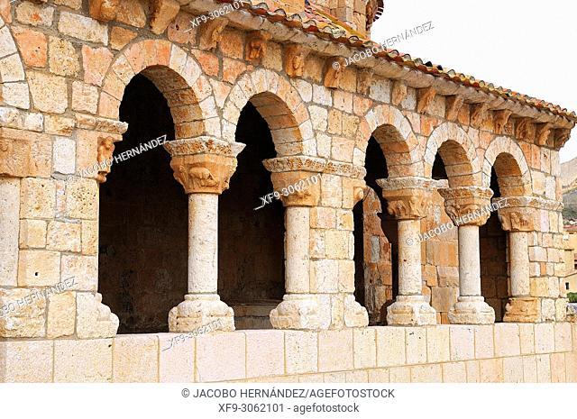 Romanesque church of Santa María del Rivero. San Esteban de Gormaz. Soria province. Castilla y León. Spain