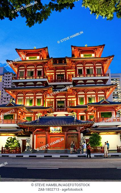New Buddha Tooth Relic Temple, Singapore