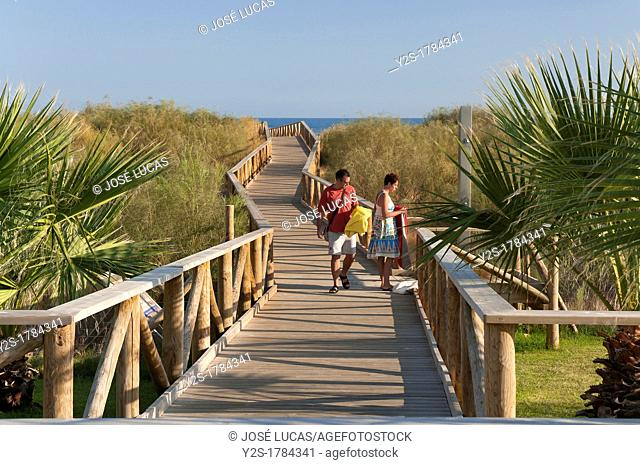 Punta del Moral Beach, Ayamonte, Huelva-province, Spain
