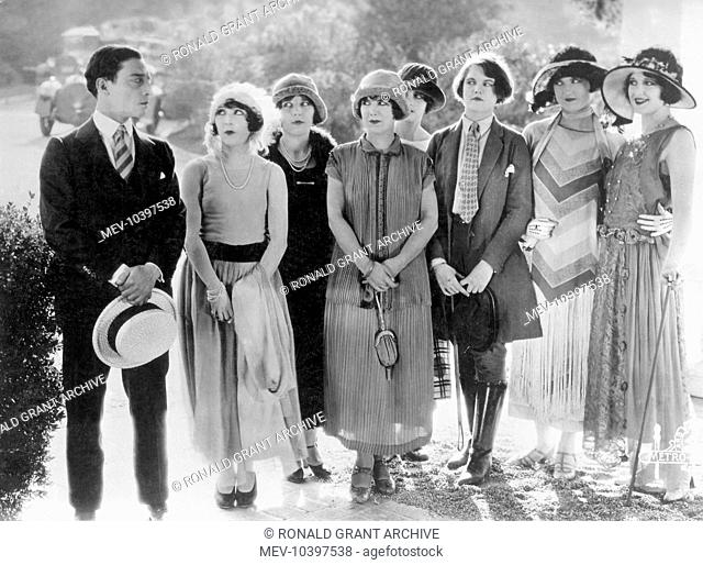 SEVEN CHANCES BUSTER KEATON with his seven chances for matrimonial happiness SEVEN CHANCES