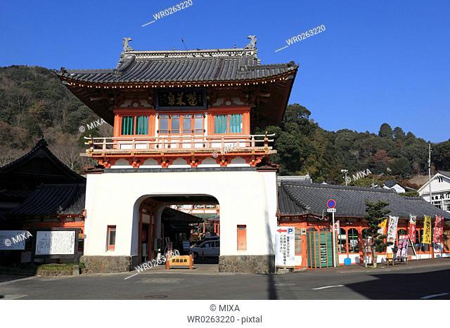 Gate of Takeo Onsen, Takeo, Saga, Japan