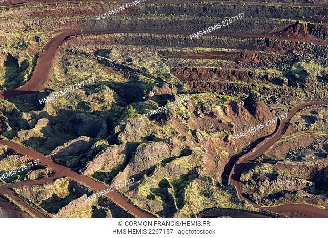 France, Puy de Dome, the Regional Natural Park of the Volcanoes of Auvergne, Chaine des Puys, Saint Ours les Roches, Lemptegy volcano