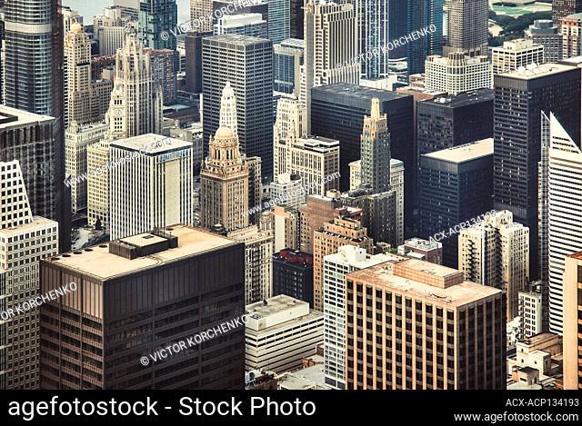 Chicago, Illinois cityscape