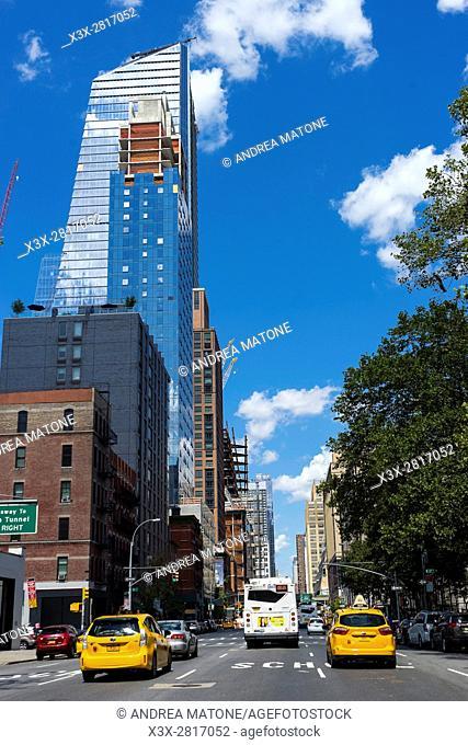 New York city streets. Manhattan. New York. USA