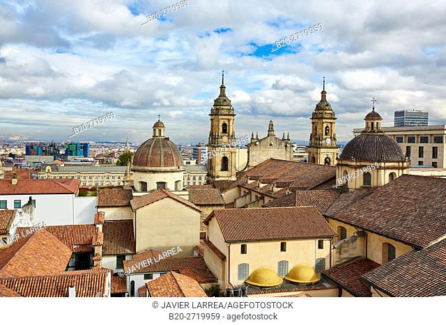 Catedral Primada de Colombia, La Candelaria, Bogota, Cundinamarca, Colombia, South America