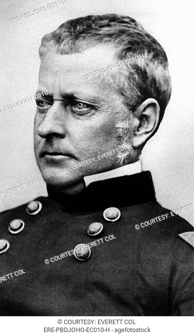 Joseph Hooker 1814-1879, Major General in the Union army during the U.S. Civil War, circa 1850s