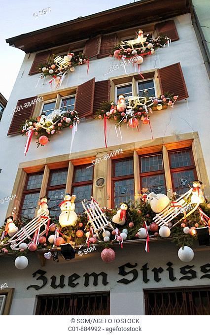 Christkindelsmärik, Christmas market, Strasbourg, Alsace, France