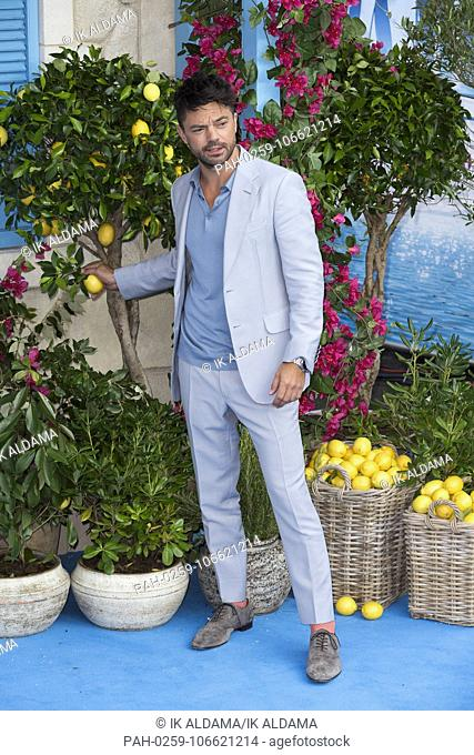 Dominic Cooper attends Mamma Mia! Here We Go Again - World Premiere. London, UK. 16/07/2018 | usage worldwide