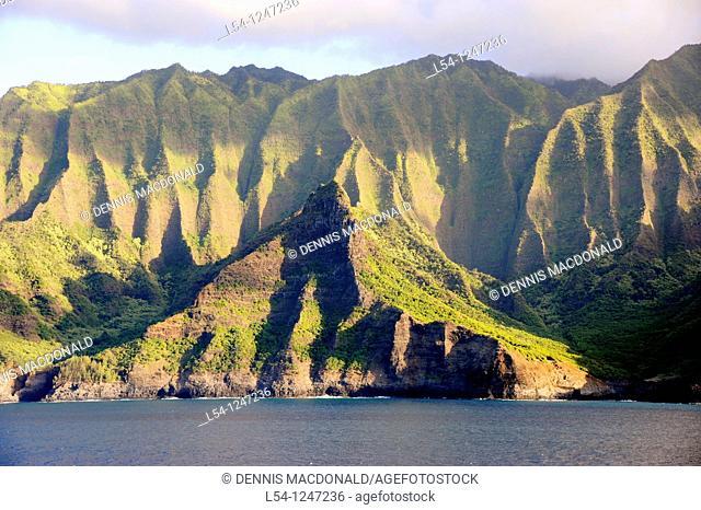 Na Pali Coast Kauai Hawaii Pacific Ocean
