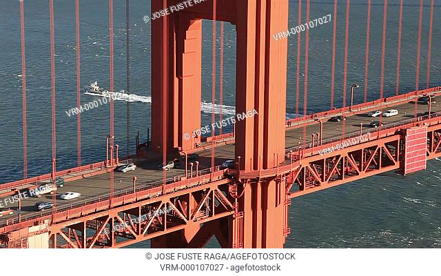 USA-California-San Francisco City-The Golden Gate Bridge