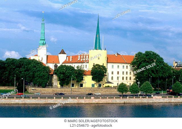 Riga Castle (16th Century). Latvia