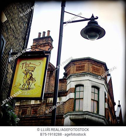 Market Porter Pub, Borought Market, Southwark, London, England, UK