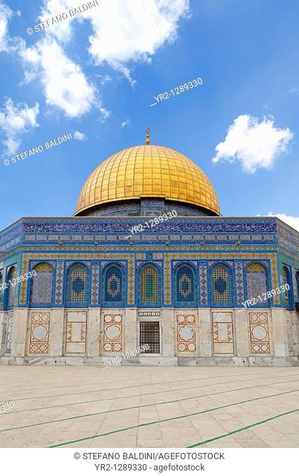 The Al aqsa mosque, east Jerusalem, Palestine