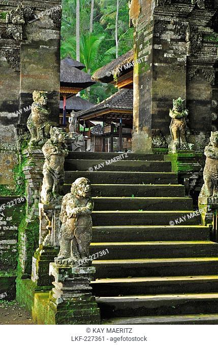Detail of the Pura Kehen temple, Bangli, Bali, Indonesia, Asia