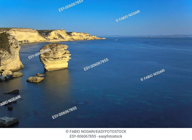 Bonifacio cliff, Corsica