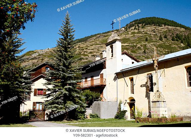 Abriès. Queyras. Hautes-Alpes. France